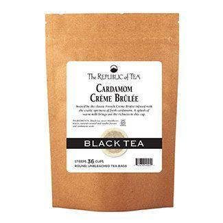 Cardamom Crème Brûlée Black Tea Bags