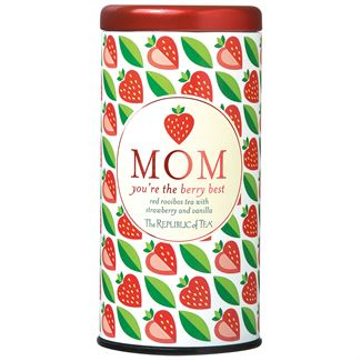 Mom You're the Berry Best Gift Tea (Strawberry Vanilla Red Tea)