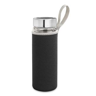 Double Wall Glass Tumbler with Neoprene Cozy