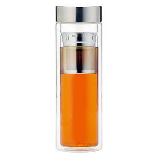 Glass Tumbler with Neoprene Cozy
