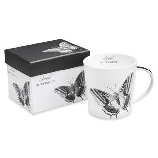 Social Butterfly Boxed Mug