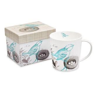 Hint of Spring Boxed Mug