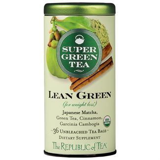 Organic Lean Green SuperGreen Tea Bags