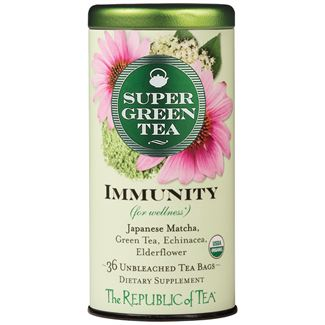 Organic Immunity SuperGreen Tea Bags