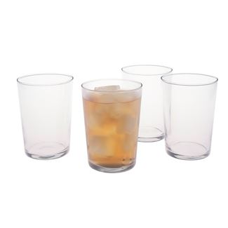 Short and Sweet Iced Tea Glasses (Set of 4)