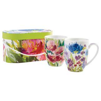 Summer Flowers Mug (Set of 2)
