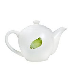 Green Leaf Teapot