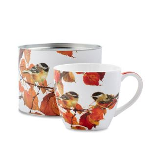 Autumn Birds Big Mug