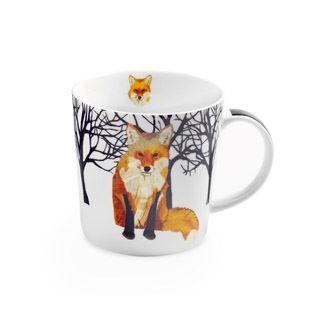 Winter Fox Boxed Mug