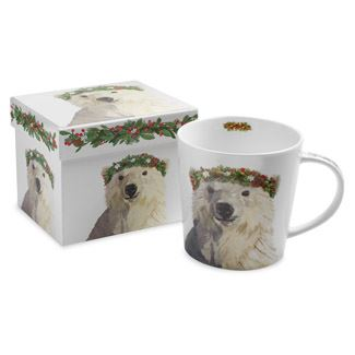 Christmas Bear Boxed Mug