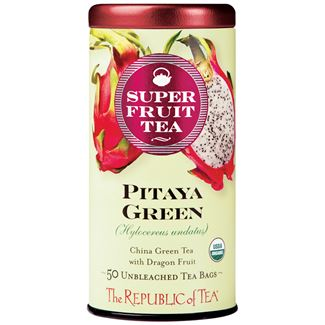 Organic Pitaya Green SuperFruit Tea Bags