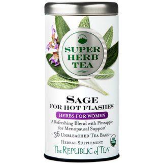 Organic Sage SuperHerb® Tea For Hot Flashes