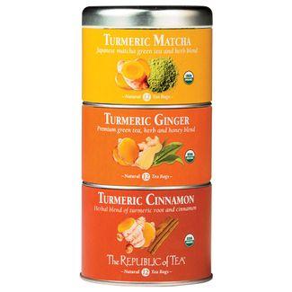 Organic Turmeric Stackable Tea Tin