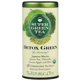 Organic Detox Green SuperGreen Tea Bags
