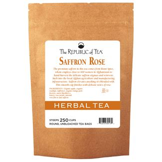 Saffron Rose Herbal Tea Bags