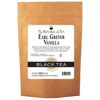 Earl Greyer Vanilla Black Tea Bags