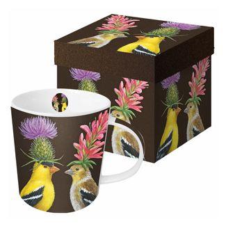 Whimsical Birds Boxed Mug