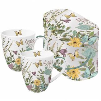 Butterfly Blossom Boxed Mug (Set of 2)
