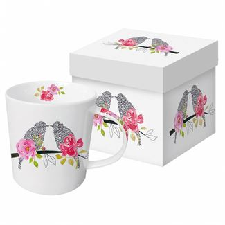 Lovebirds Boxed Mug