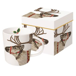 Sleigh Bells Ring Boxed Mug