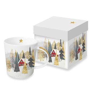 Home for the Holidays Boxed Mug