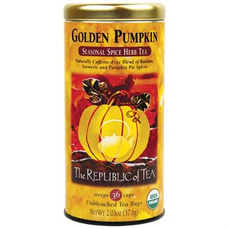 Golden Pumpkin Herbal Tea