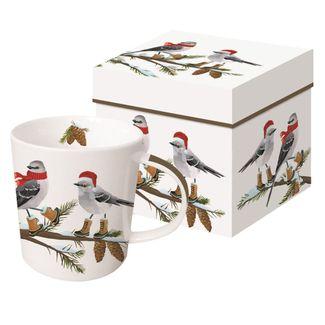 Festive Tweets Boxed Mug