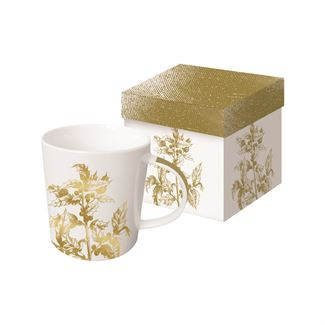 Golden Flora Boxed Mug