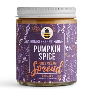 Pumpkin Spice Honey Cream