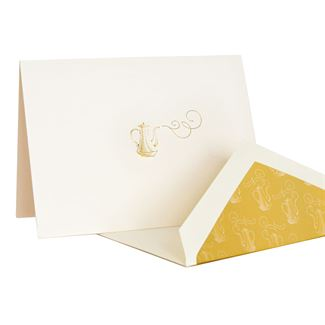 Downton Abbey® Engraved Kettle Note Cards