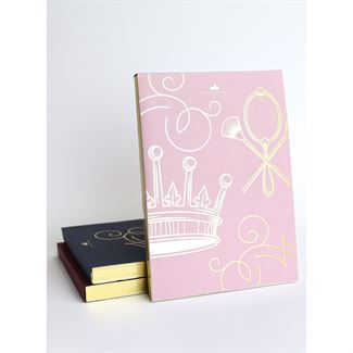 Downton Abbey® Deluxe Notepad - Crown & Vanity