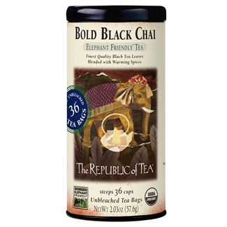Bold Black Chai