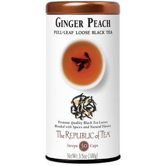Ginger Peach Black Full-Leaf