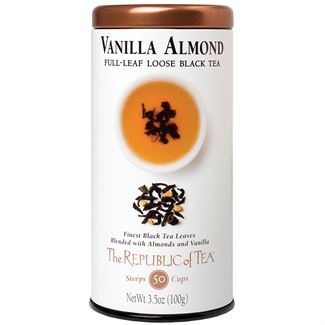 Vanilla Almond Black Full-Leaf