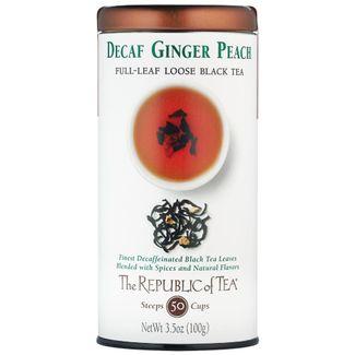Decaf Ginger Peach Black Full-Leaf
