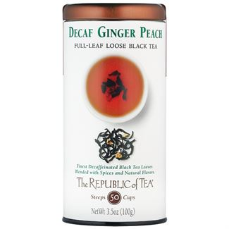 Decaf Ginger Peach Black Full-Leaf