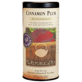 Cinnamon Plum Black Tea Bags
