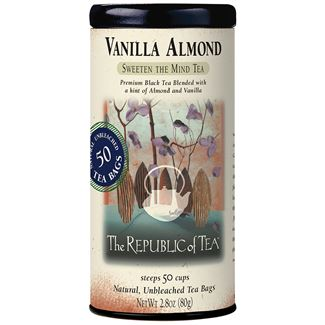 Vanilla Almond Black Tea Bags