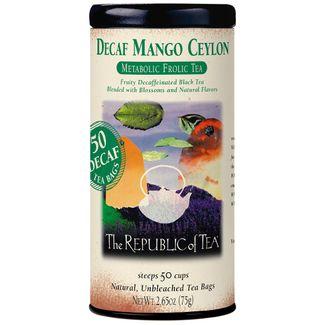 Decaf Mango Ceylon Black Tea Bags