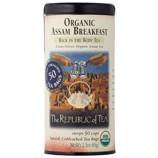 Organic Assam Breakfast Black Tea Bags