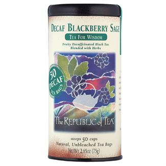 Decaf Blackberry Sage Black Tea Bags