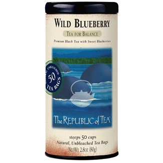 Wild Blueberry Black Tea Bags