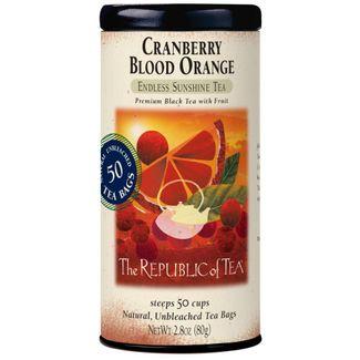 Cranberry Blood Orange Black Tea Bags