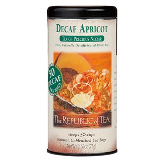 Decaf Apricot Black Tea Bags
