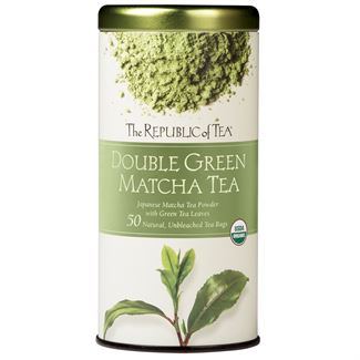 Organic 100% Double Green® Matcha Tea Bags