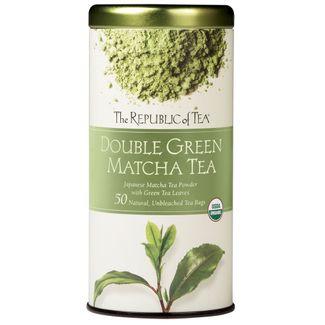 Organic 100% Double Green® Matcha Tea Bags