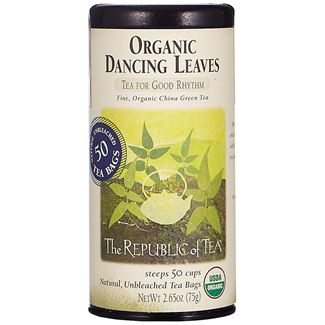 Organic Dancing Leaves Green Tea Bags