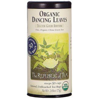 Organic Dancing Leaves Green Tea Bags