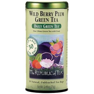 Wild Berry Plum Green Tea Bags