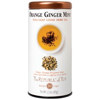 Orange Ginger Mint Herbal Full-Leaf Tea